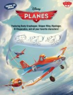 Learn to Draw Disney Planes: Featuring Dusty Crophopper, Skipper Riley, Ripslinger, El Chupacabra, and All Your Favorite Characters!