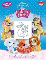 Learn to Draw Disney's Palace Pets: Featuring Pumpkin, Beauty, Treasure, Blondie and All of Your Favorite Princesses' Pets!