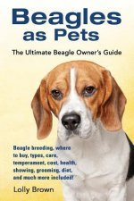 Beagles as Pets: Beagle Breeding, Where to Buy, Types, Care, Temperament, Cost, Health, Showing, Grooming, Diet, and Much More Included
