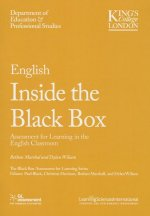 English Inside the Black Box: Assessment for Learning in the English Classroom