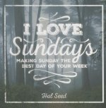 I Love Sundays Gift Book Book: Make Sunday the Best Day of the Week