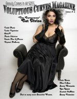 Voluptuous Curves Magazine: Issue # 4 Cat Divine Cover