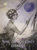 Shine on - Greeting Cards, Pkg of 6: Greeting: Shine on You Crazy Diamond (Blank Inside)
