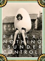 Under Control - Greeting Cards, Pkg of 6: Greeting: Relax, Nothing Is Under Control (Blank Inside)