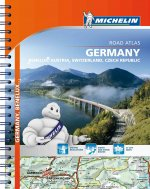 Michelin Germany/Austria/Benelux/Switzerland Road Atlas