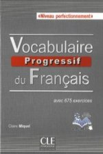 Vocabulaire progressif du français Niveau perfectionnement  ksiazka + plyta CD audio