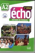 Echo A2 Student Book & Portfolio & DVD