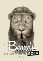 Beards Rock: Postcards: A Portfolio: 24 Plates