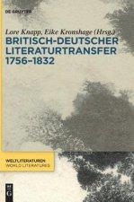 Britisch-deutscher Literaturtransfer 1756-1832