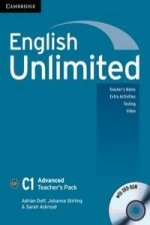 English Unlimited C1 - Advanced. Advanced Teacher's Pack. Book with DVD-ROM