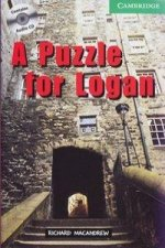 A Puzzle for Logan. Buch und CD
