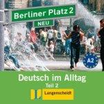 Berliner Platz 2 NEU in Teilbänden - Audio-CD zum Lehrbuch, Teil 2