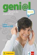 geni@l klick A2 - Lehrerhandbuch mit integriertem Kursbuch