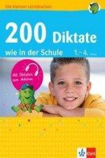 200 Diktate wie in der Schule 1.-4. Klasse