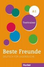 Beste Freunde A1. Kopiervorlagen. Testtrainer mit Audio-CD