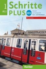 Schritte plus Neu 1 - Österreich. Kursbuch + Arbeitsbuch mit Audio-CD zum Arbeitsbuch