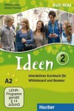 Ideen 2. Interaktives Kursbuch für Whiteboard und Beamer - DVD-ROM