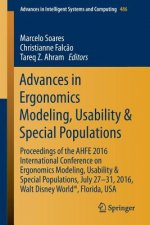 Advances in Ergonomics Modeling, Usability & Special Populations