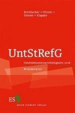 Unternehmenssteuerreformgesetz 2008 (UntStRefG)