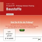 Fit durch Pit - Baustoffe CD-ROM