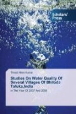 Studies On Water Quality Of Several Villages Of Bhiloda Taluka,India