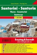 Automapa Santorini 1:40 000