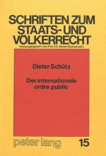 Der internationale ordre public
