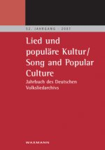 Lied und populäre Kultur - Song and Popular Culture
