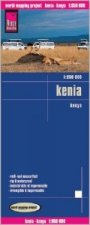 Reise Know-How Landkarte Kenia (1:950.000). Kenya