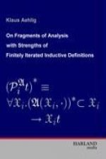On Fragments of Analysis with Strengths of Finitely Iterated Inductive Definitions