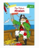Malbuch ab 5 Piraten