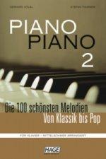 Piano Piano, mittelschwer arrangiert. Bd.2