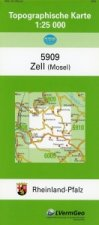 Zell (Mosel) 1 : 25 000