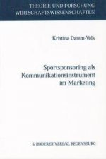 Sportsponsoring als Kommunikationsinstrument im Marketing