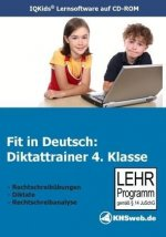 Fit in Deutsch: Diktattrainer. 4. Klasse. CD-ROM für Windows 95/98/NT/ME/2000/XP