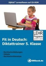 Fit in Deutsch: Diktattrainer. 5. Klasse. CD-ROM für Windows 95/98/NT/Me/2000/XP