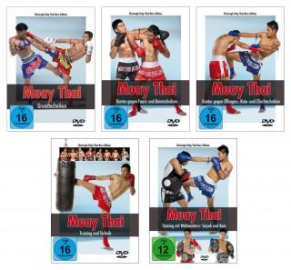 Muay Thai DVD - Die komplette Serie über die Techniken und das Training des Thai-Boxens