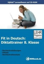Fit in Deutsch: Diktattrainer 8. Klasse. CD-ROM für Windows 98/ME/2000/XP