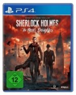 Sherlock Holmes The Devil's Daughter, PS4-Blu-ray-Disc