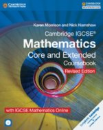 Cambridge IGCSE (R) Mathematics Core and Extended Coursebook with CD-ROM and IGCSE Mathematics Online Revised Edition