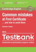 Common Mistakes at First Certificate and How to Avoid Them Paperback with Testbank
