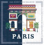 Night & Day-Malbuch: Paris