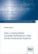 Early-Lumping Based Controller Synthesis for Linear Infinite-Dimensional Systems