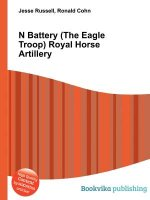 N Battery (the Eagle Troop) Royal Horse Artillery