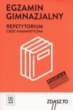 Egzamin gimnazjalny Repetytorium Czesc humanistyczna