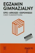 Egzamin gimnazjalny Czesc humanistyczna
