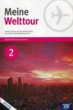 Meine Welttour 2 Jezyk niemiecki Podrecznik z plyta CD