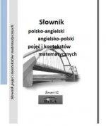Slownik polsko-angielski angielsko-polski pojec i kontekstow matematycznych