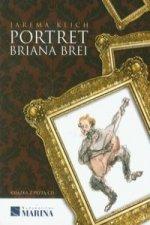Portret Briana Brei z plyta CD