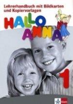 HALLO ANNA 1 LIBRO DEL PROFESOR + CD-ROM